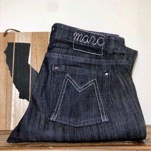 Marc Jacobs Black Jeans Straight Leg Medium Wash